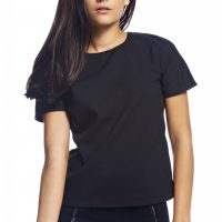 Short Sleeve Black Topf