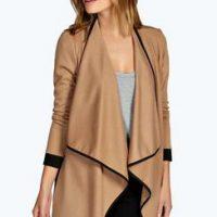 boohoo-brown-waterfall-jacketb