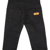 black Plain Chinos trouser_2