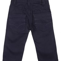 blue Plain Chinos trouser_2